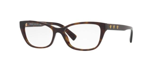 Versace eyeglasses CLEAR MEDUSA VE 3249