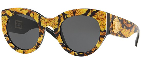 Versace TRIBUTE COLLECTION VE 4353 YELLOW BLACK/GREY
