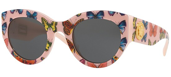 Versace TRIBUTE COLLECTION VE 4353 PINK BLUE RED/GREY
