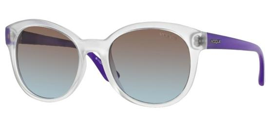 Vogue VO 2795S CRYSTAL PURPLE/BROWN AZURE SHADED