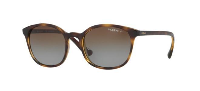 VOGUE VO5051 S W656//5R Sunglasses Brown Havana And Purple