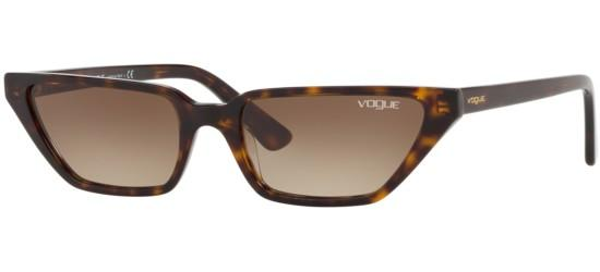Vogue VO 5235S BY GIGI HADID DARK HAVANA/BROWN SHADED