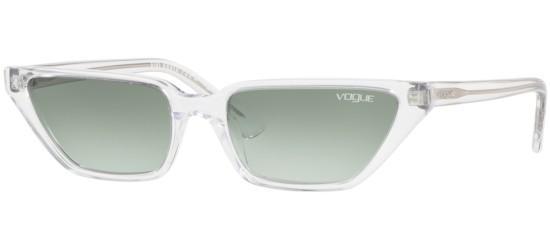 Vogue VO 5235S BY GIGI HADID CRYSTAL/GREEN SHADED