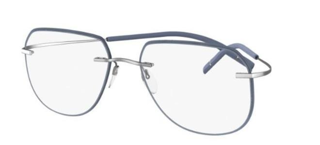 Silhouette eyeglasses TMA ICON ACCENT RINGS 5518/FY