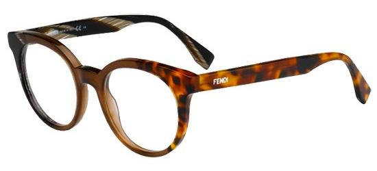 Occhiali Da Vista Fendi F Is Fendi Ff 0307 Dark Havana Donna