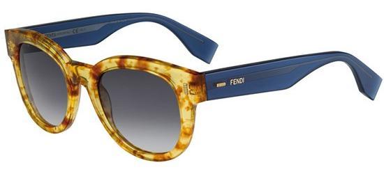 Fendi COLOR BLOCK FF 0026/S VINTAGE AMBRE BLUE/GREY SHADED