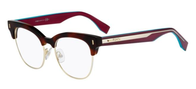 Fendi brillen COLOR BLOCK FF 0163