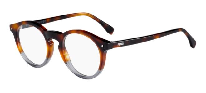 Fendi brillen COLOR BLOCK FF 0236