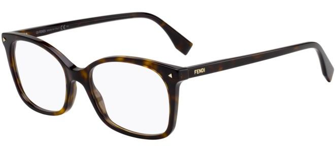 Fendi eyeglasses COLOR BLOCK FF 0414