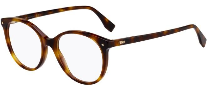 Fendi eyeglasses COLOR BLOCK FF 0416