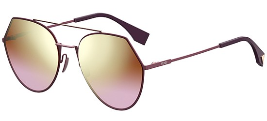 Fendi EYELINE FF 0194/S PINK/GOLD ORANGE SHADED PINK