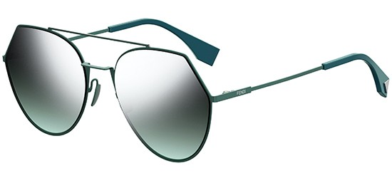 Fendi EYELINE FF 0194/S GREEN/SILVER GREY SHADED GREEN