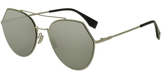 Fendi EYELINE FF 0194/S LIGHT GOLD/GREY