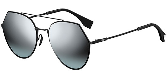 Fendi EYELINE FF 0194/S BLACK/SILVER GREY SHADED DARK GREEN