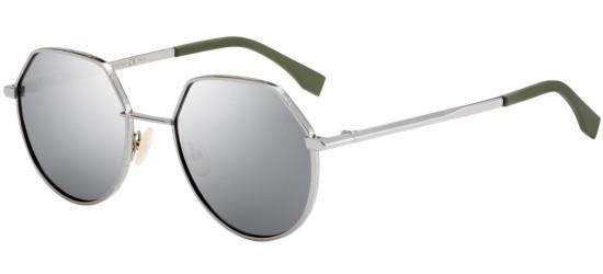 982cb259630a Fendi FENDI AROUND FF M0029 S SILVER GREY men AUTHENTIC Sunglasses ...
