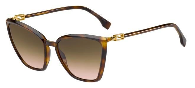 Fendi zonnebrillen FENDI BAGUETTE FF 0433/G/S