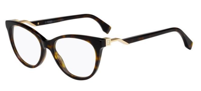 Fendi eyeglasses FENDI CUBE FF 0201
