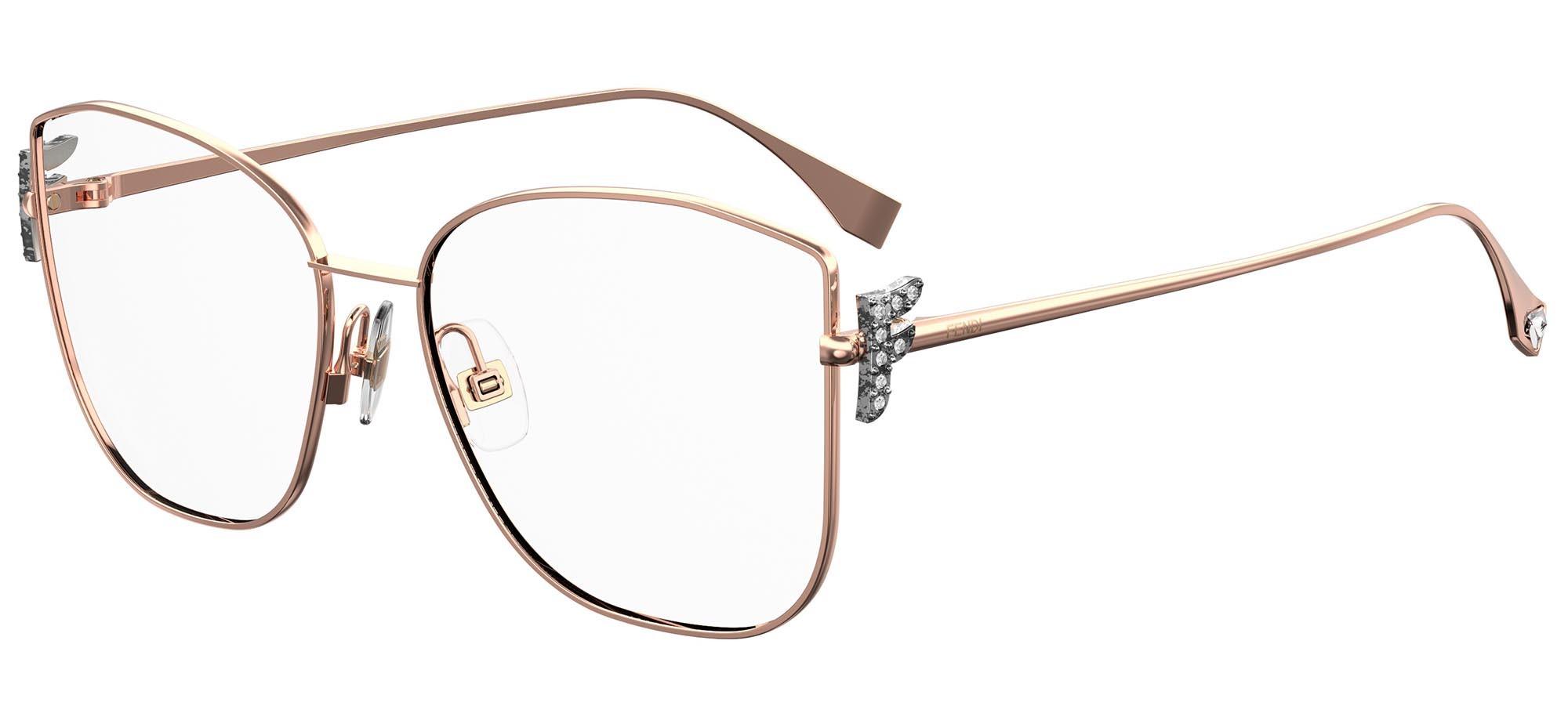 Fendi eyeglasses FENDI FREEDOM FF 0390/G