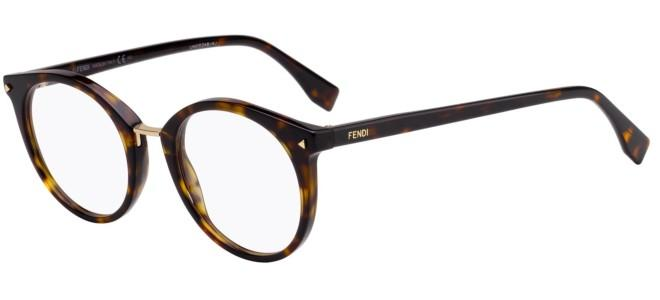 Fendi brillen FF 0350