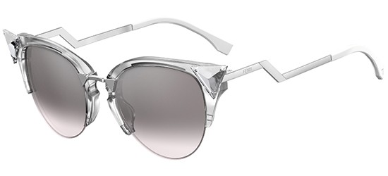 Fendi IRIDIA FF 0041/S CRYSTAL PALLADIUM/GREY SHADED