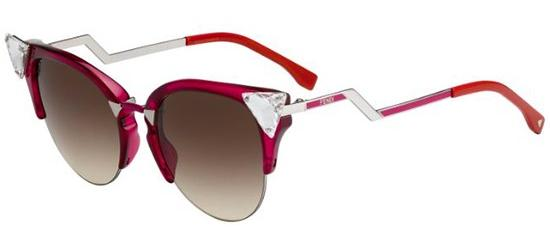 Fendi IRIDIA FF 0041/S CHERRY PALLADIUM CYCLAMEN/BROWN SHADED