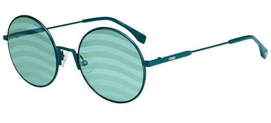 Fendi WAVES FF 0248/S GREEN/STRIPED GREEN LIGHT BLUE