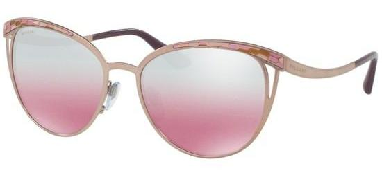 Bvlgari SERPENTI BV 6083 PINK/PINK SILVER MIRROR SHADED