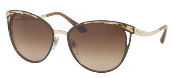 Bvlgari SERPENTI BV 6083 BROWN/DARK BROWN SHADED