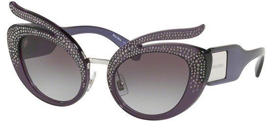 Miu Miu CATWALK SMU04TS VIOLET/GREY SHADED