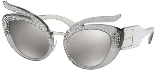 Miu Miu CATWALK SMU04TS LIGHT GREY/SILVER
