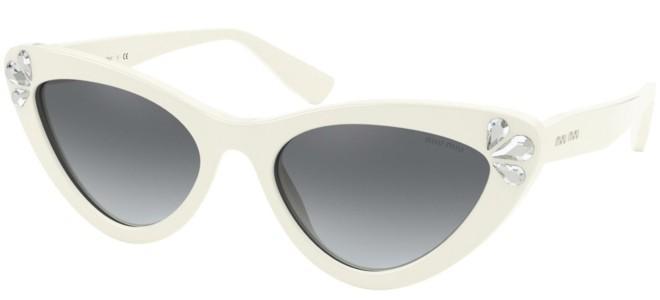 Miu Miu sunglasses CRYSTAL TEARDROPS SMU 01V