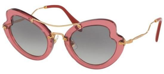 Miu Miu SMU11R DARK ROSE/GREY SHADED
