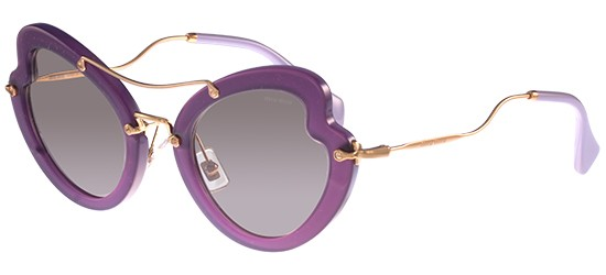 Miu Miu SMU11R VIOLET/LIGHT BROWN
