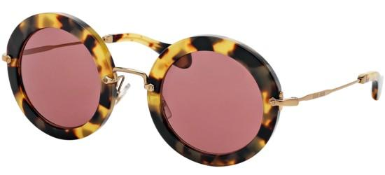 Miu Miu SMU13N BLONDE HAVANA/BROWN RED