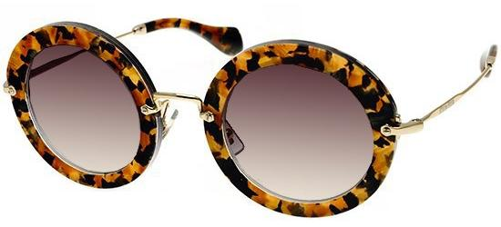 Miu Miu SMU13N HAVANA GOLD/DARK GREY SHADED