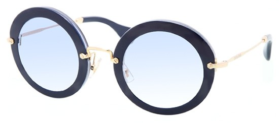 Miu Miu SMU13N BLUE GOLD/BLUE SHADED