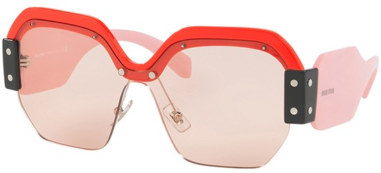 Miu Miu SORBET SMU09S RED PINK/LIGHT PINK