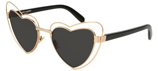a287e21cd103b1 Lunettes de soleil Saint Laurent   Collection Saint Laurent automne ...