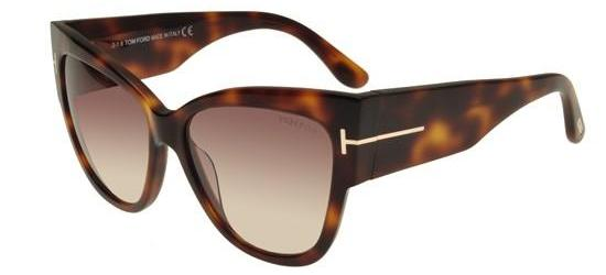 Tom Ford ANOUSHKA FT 0371 BLONDE HAVANA/BROWN AMBER SHADED