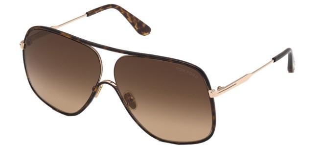 Tom Ford solbriller BRADY FT 0841