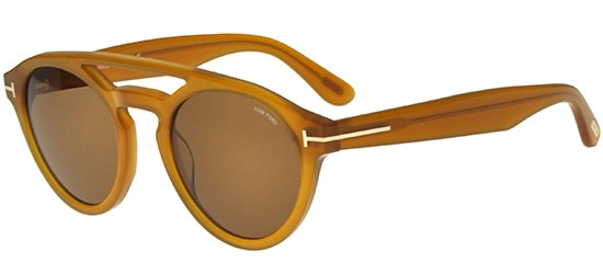 Tom Ford CLINT FT 0537 LIGHT BROWN/BEIGE BROWN
