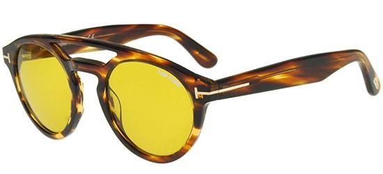 Tom Ford CLINT FT 0537 STRIPED BROWN/YELLOW