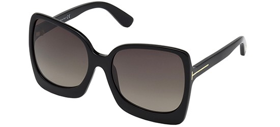 Tom Ford Kelly-02 FT 0611 01B Größe 53 FN7jrPhM0