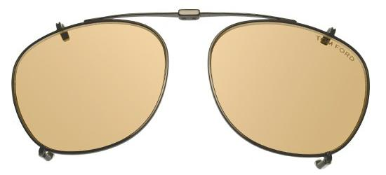 Tom Ford FT 5401 RUTHENIUM/LIGHT BROWN