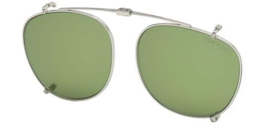 Tom Ford FT 5401 PALLADIUM/LIGHT GREEN SHADED