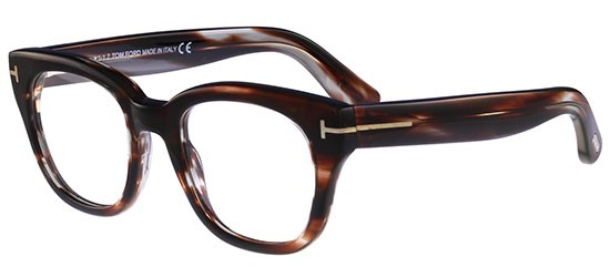 Tom Ford FT 5473 SHINY DARK BROWN
