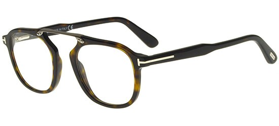 Occhiali Da Vista Tom Ford Ft 5495 Shiny Ruthenium/green Unisex