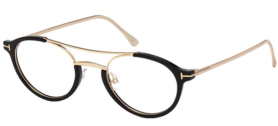 Lunettes de soleil Tom Ford FT5514 Clip On Gold /15/. sOXCNugE