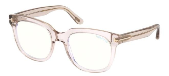 Tom Ford brillen FT 5537-B BLUE BLOCK