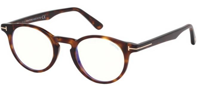 Tom Ford brillen FT 5557-B BLUE BLOCK